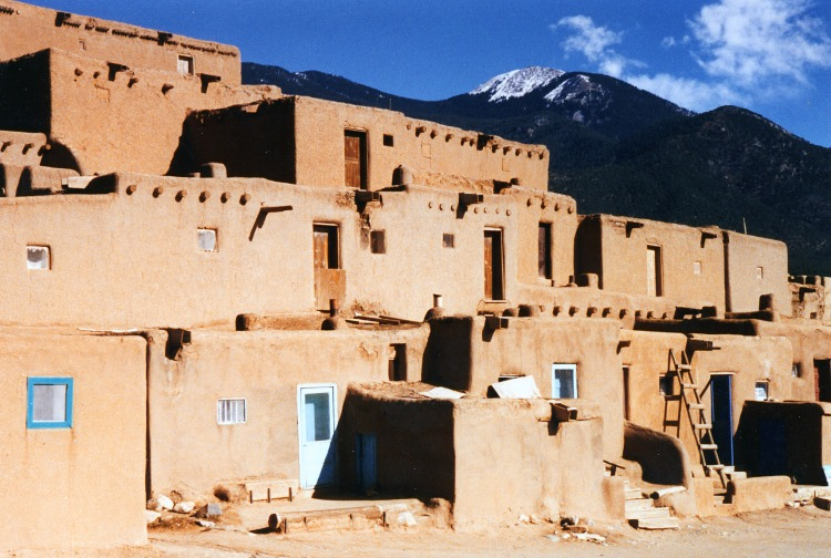 Taos Pueblo things to see on a southwest road trip in New Mexico