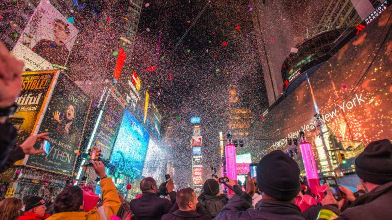 New Years Eve, Times Square, Manhattan