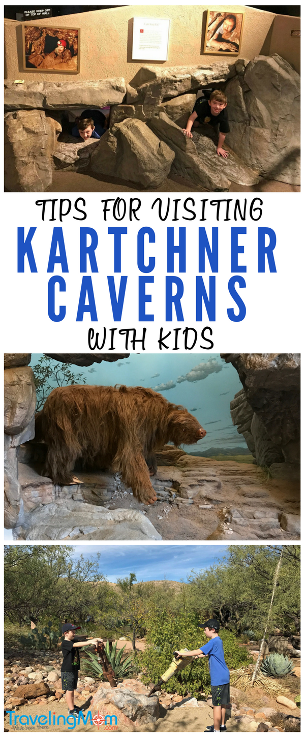 Adventurous families should consider cave tours in Arizona with kids, like the Kartchner Caverns tours. Kartchner Caverns State Park is an easy Tucson day trip. Check out my tips below for taking kids to Kartchner Caverns including what you are allowed to bring on the tour.