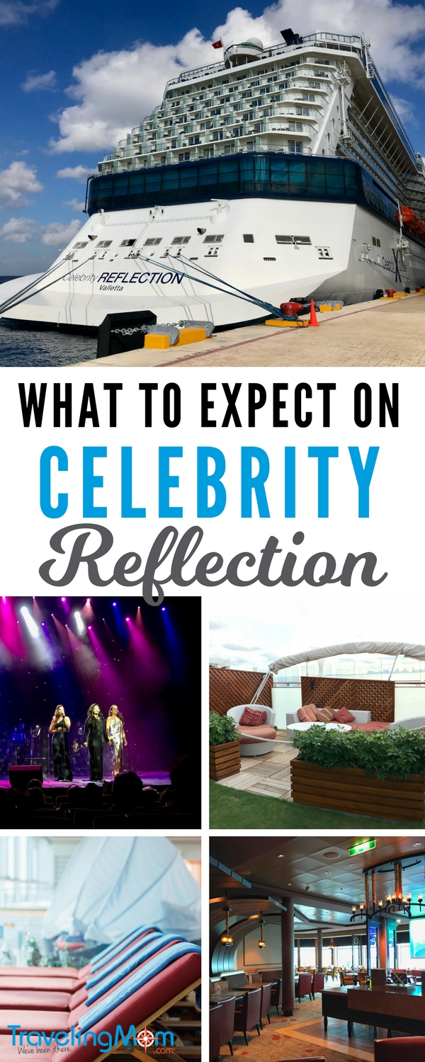 Wondering what to expect on Celebrity Reflection? We've got everything you need to know right here! Read our review of Celebrity's newest ship Reflection, and plan your cruise vacation today!