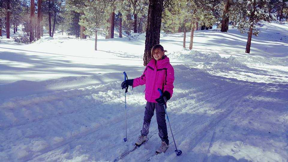 Cross-country skiing is quite a workout but is also among the Best winter sports for families