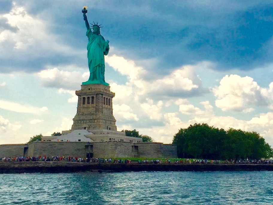 Touring the Statue of Liberty is a popular educational spring break idea.