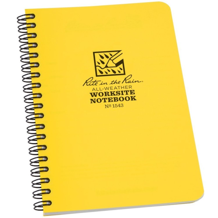 Need gifts for active travelers? Our outdoor gift guide recommends this waterproof notebook.