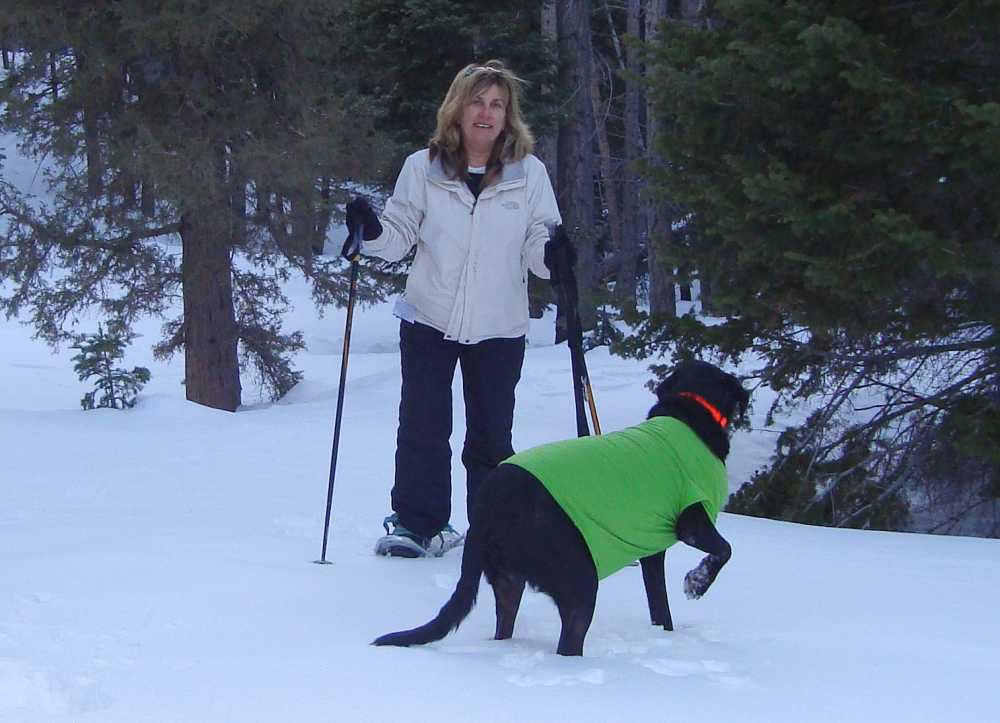 Snowshoeing is among the underrated winter sports for families and dogs