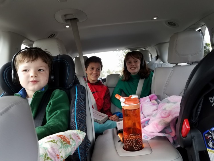 family road trip tips for families with ADHD
