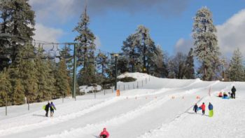 Ride a chairlift up and sled down at Snow Valley Snow Play in the San Bernardino Mountains. -- things to do in the winter in L.A.