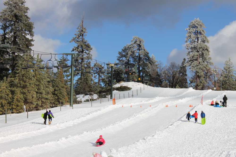 Nearby sledding is among winter sports for families in L.A.