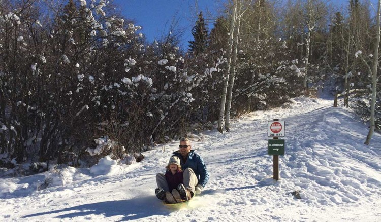 The mountains around Vail offers maximum outdoor fun for families of all ages – from ice skating and sledding to skiing.