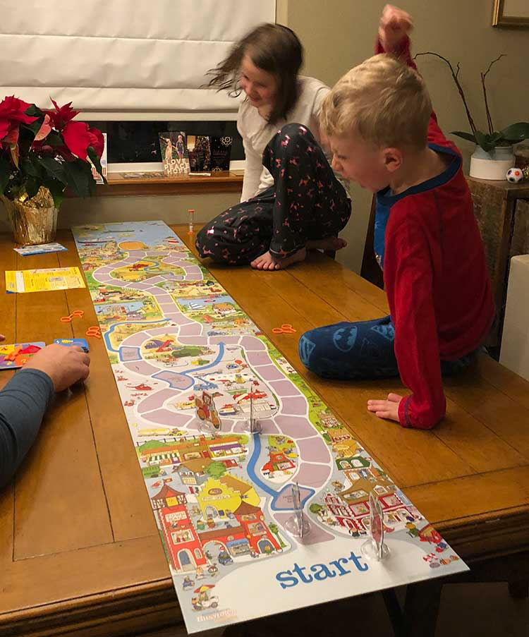 Family travel games for the family -- Busytown