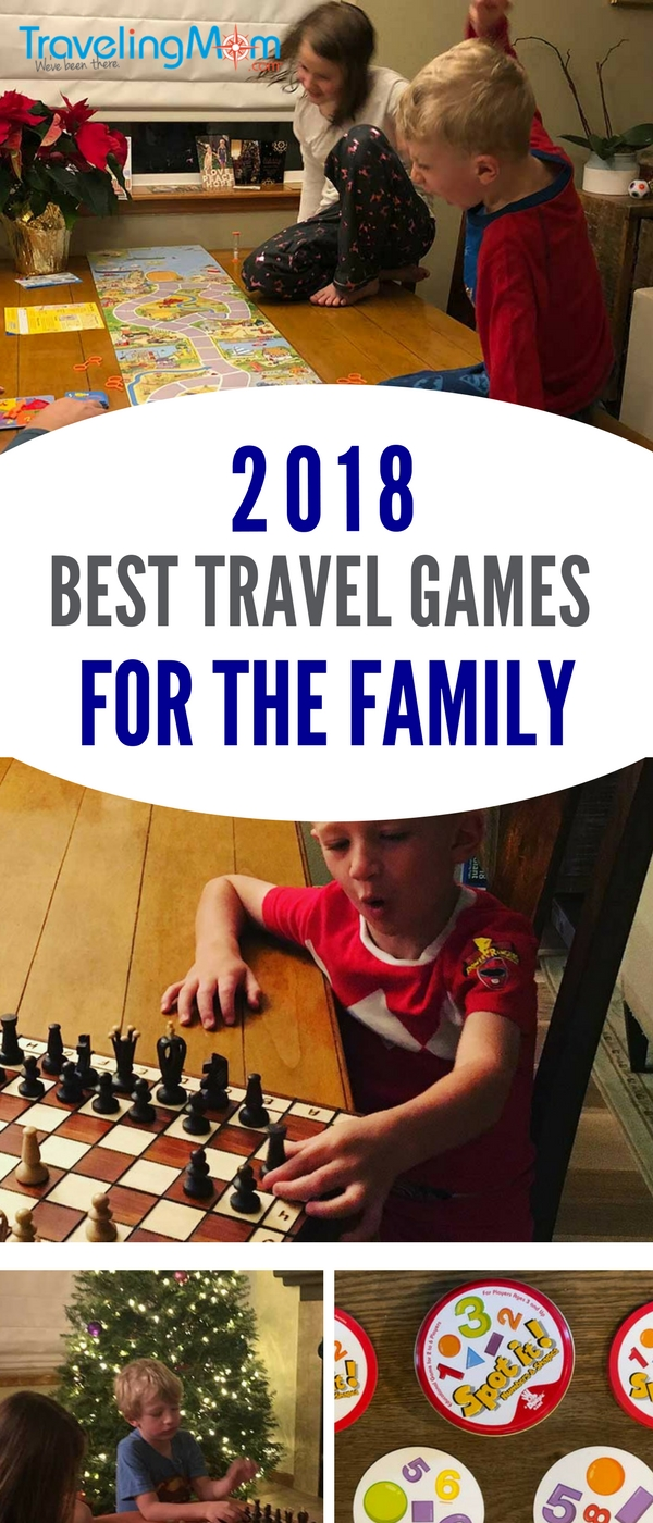The one family packing essential is a board game. Because someone will get bored. Guaranteed. Favorites for 2018 include classics like Pictionary and new ones sure to become your favorite travel board games for the family.