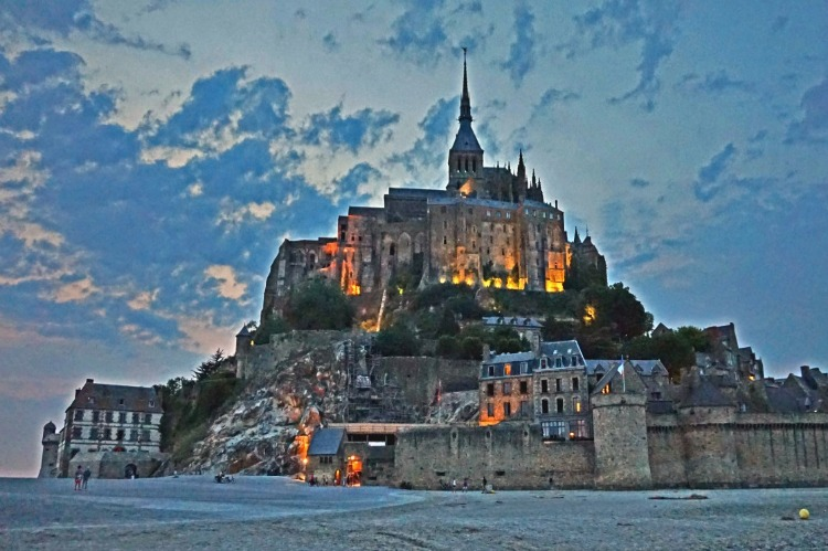 UNESCO heritage site - Mont Saint Michel, France