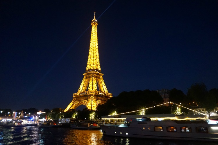 No visit to Paris is complete with seeing the Eiffel Tower, pictured here as seen from the Seine River Cruise