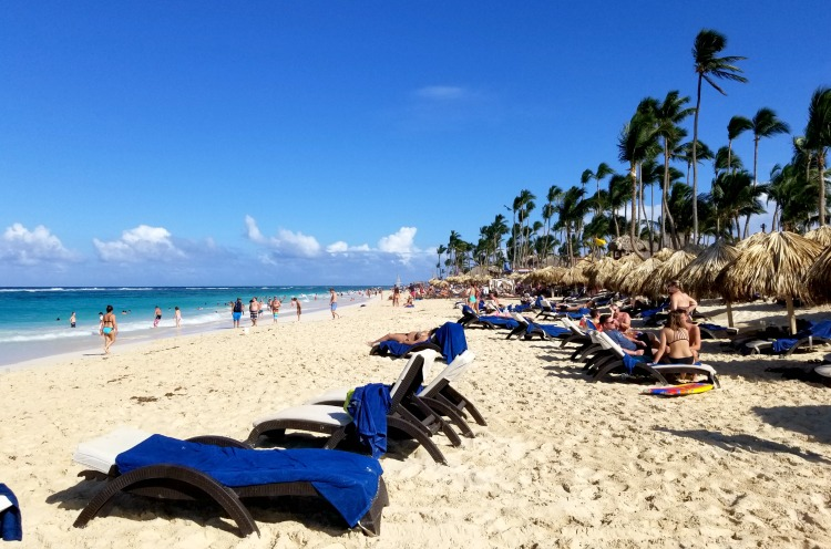 Bavaro beach is just a short walk from this affordable all inclusive resort