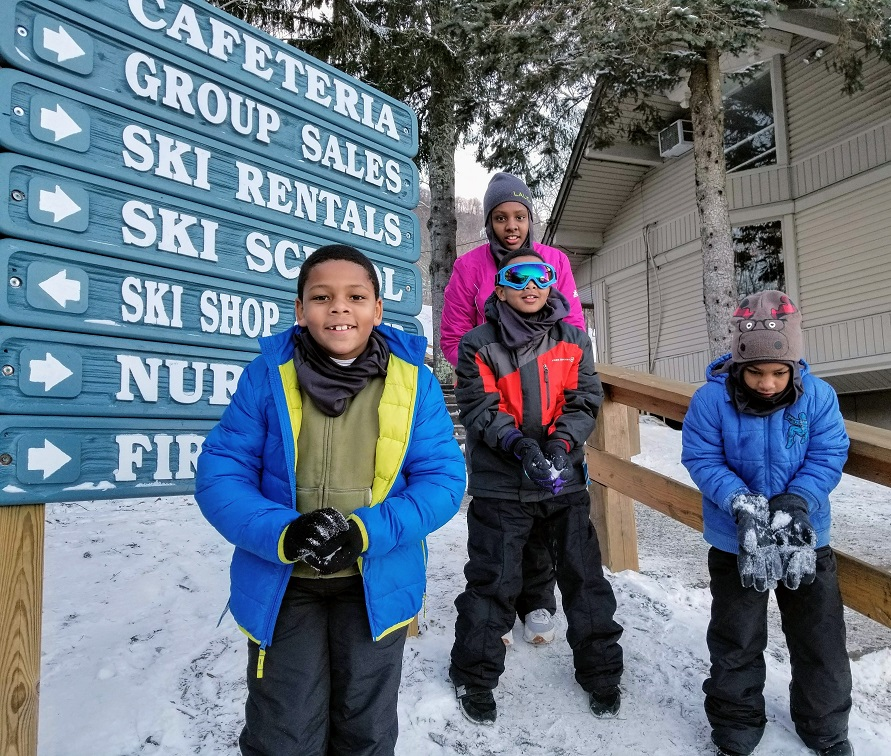 When thinking of essential ski items, don't forget to consider the kids!