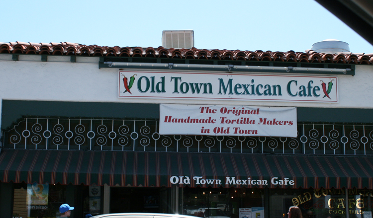 San Diego 3 Day Itinerary Old Town Mexican Cafe