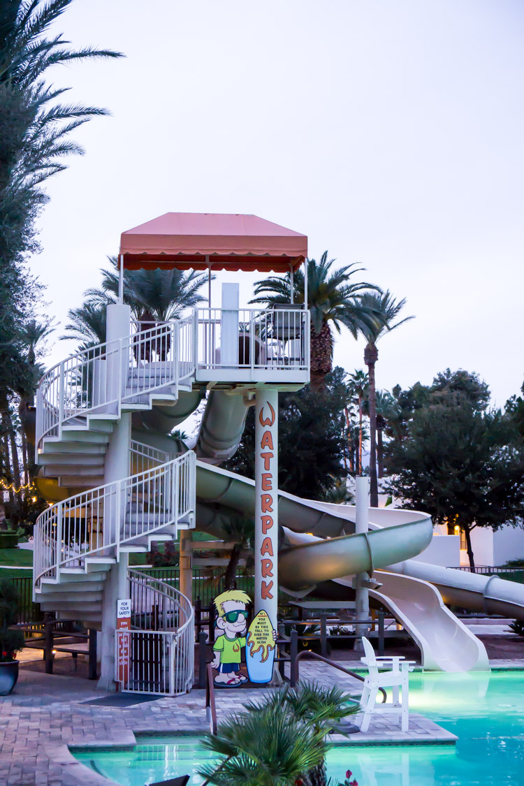 Water slides and pools make Arizona family resorts a popular choice