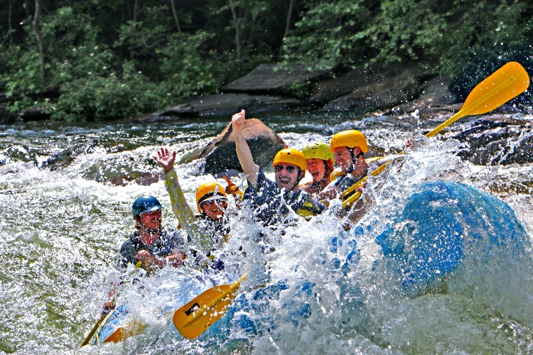 Whitewater rafting, Chattanooga's must-do for outdoor enthusiasts