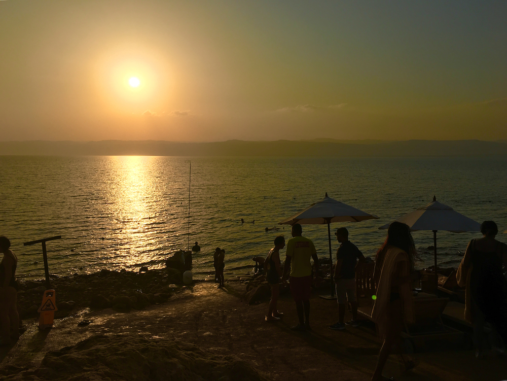 Float in the Dead Sea. How to plan a trip to Jordan with kids.