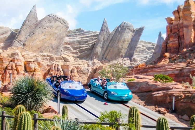 Save money on Disney and enjoy Radiator Springs Racers inCars Land