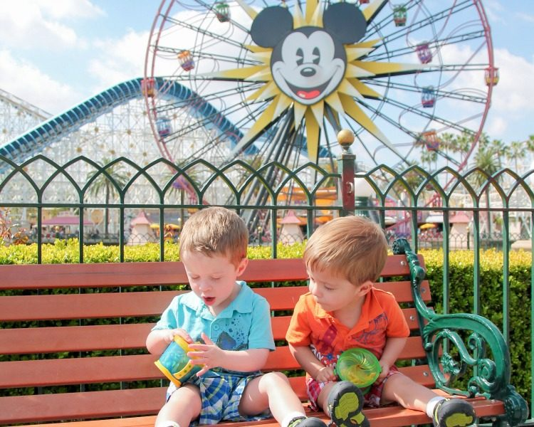 Save money on Disney while taking toddlers before age three