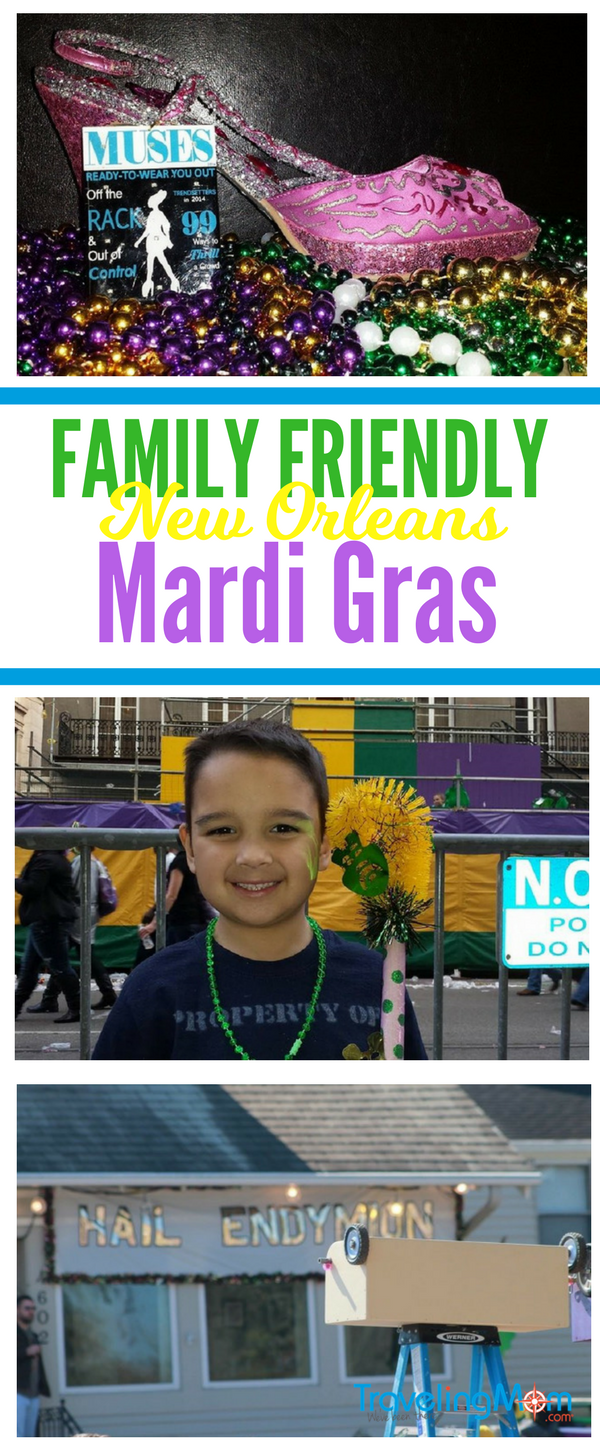 Skip the boobs & beer with these family friendly Mardi Gras tips.