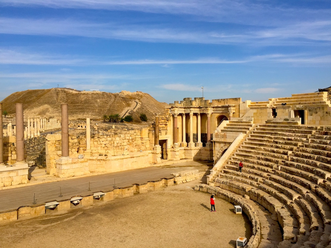 Tips for a family trip to Israel include visiting archeology sites