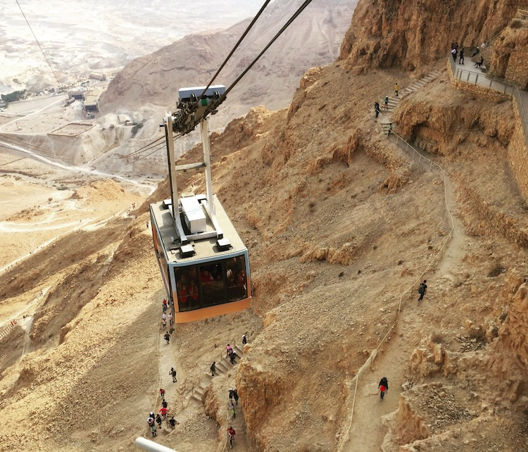 Tips for a family trip to Israel include visiting desert hiking and the Masada