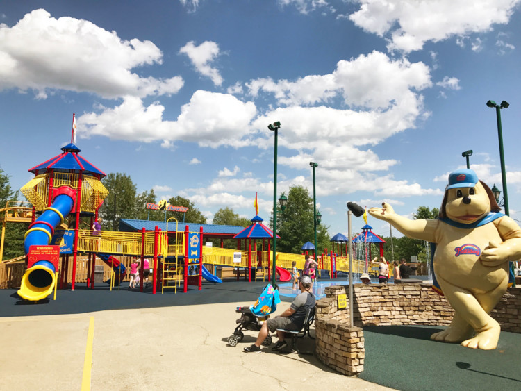 Spring break vacations might take you to Holiday World in Santa Claus, Indiana.