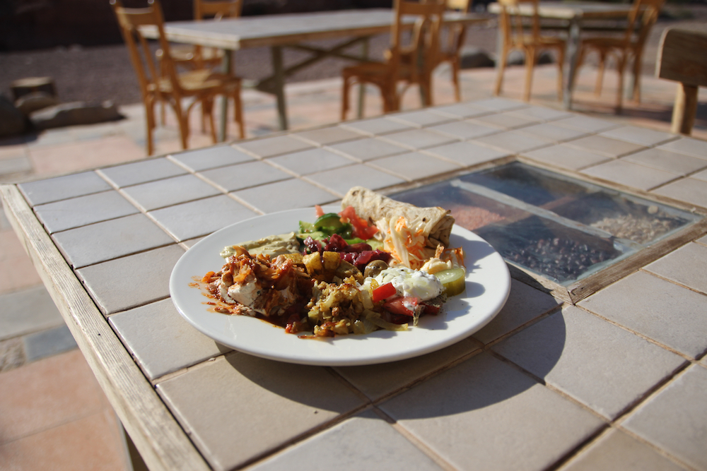Eat a Middle Eastern Mezze. How to plan a trip to Jordan with kids.