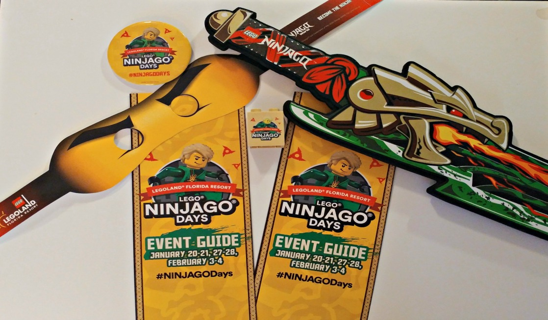 LEGOLAND® Florida special events are so much fun! Be sure to check out LEGOLAND Florida NINJAGO Days in January and February.