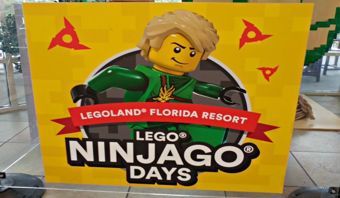 LEGOLAND Florida NINJAGO Days offer fun activities such as kid's yoga and more!