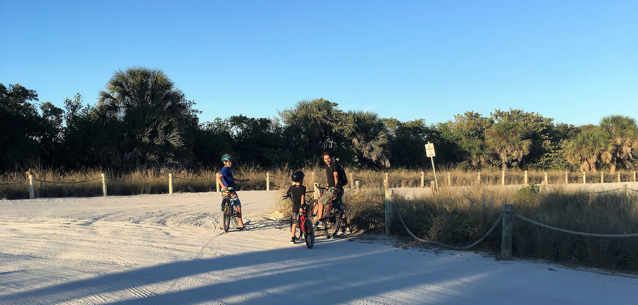 Things to do Manasota Key Florida - ride off the beaten paths and explore the parks.