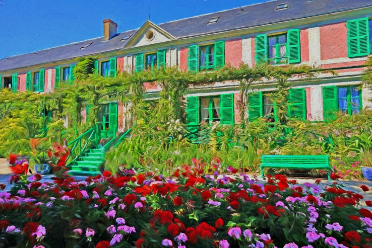 Monet's House and Gardens in Giverny, just a short train trip away from Paris.