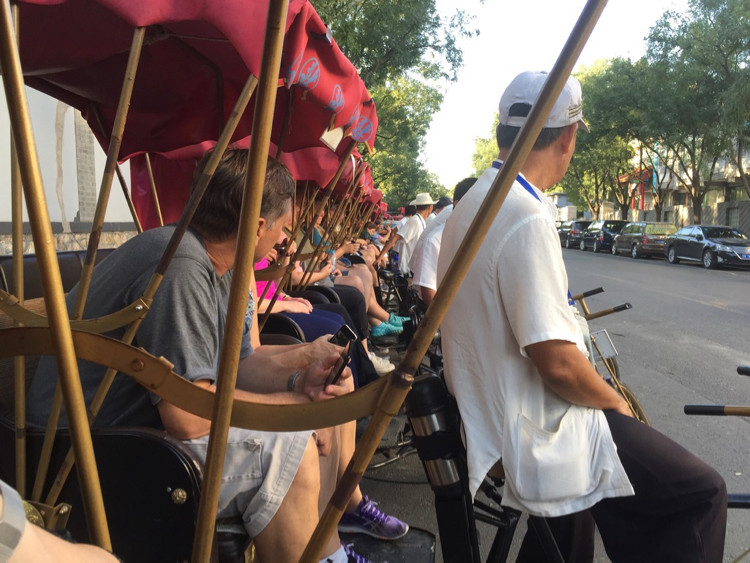 With so much to see and do in Beijing, China, Don't miss the chance to see Beijing as the locals do. Take a pedicab tour!