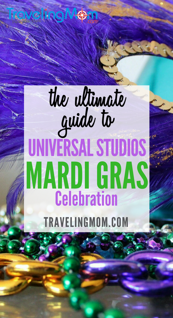 Looking for a kid-friendly Mardi Gras celebration? Take the family to Universal Studios Mardi Gras and have the time of your life!