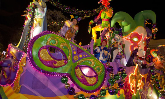 Let the Good Times Roll! Kid Friendly Universal Studios Mardi Gras