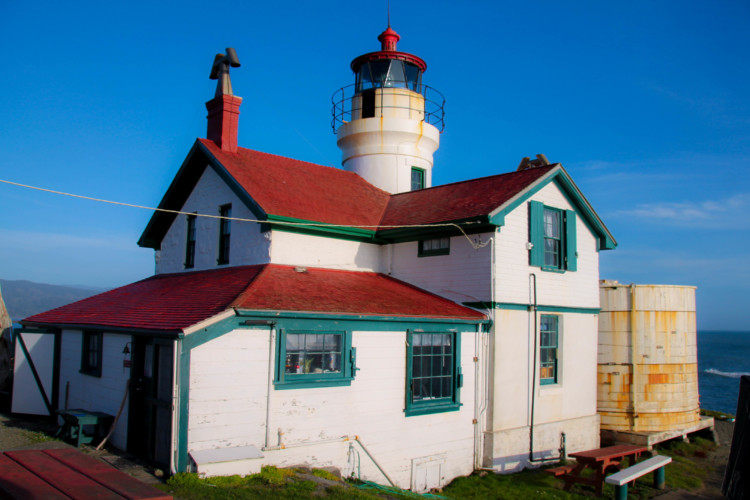 Lighthouse in Crescent City was a highlight of our budget-friendly spring break