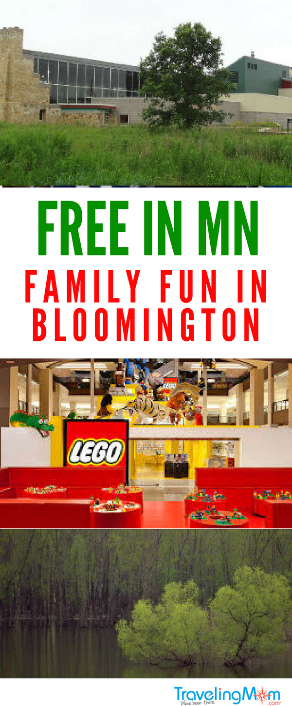 Visiting the Twin Cities? Be sure to check out the free family fun in Bloomington MN