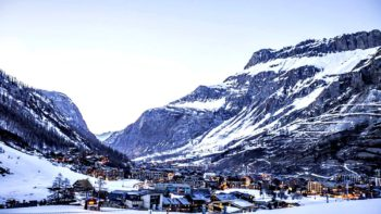 what are the views like in a French Alps luxe family ski resort accommodations