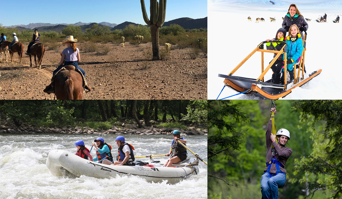 Our adventurous traveling moms offer ideas for active spring break vacations.