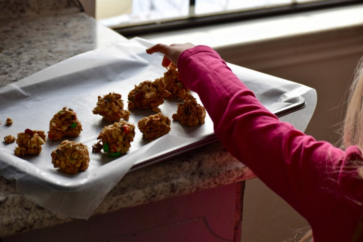 Packing snacks for a road trip can be a family affair. Kids love to help in the kitchen making road trip snacks.