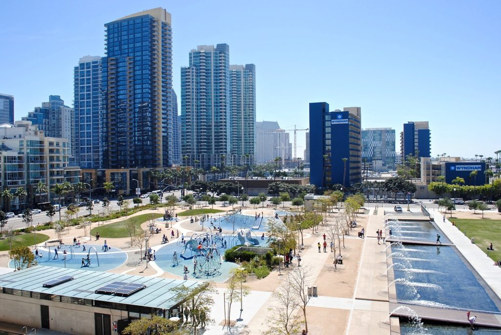 San Diego 3 Day Itinerary Waterfront park
