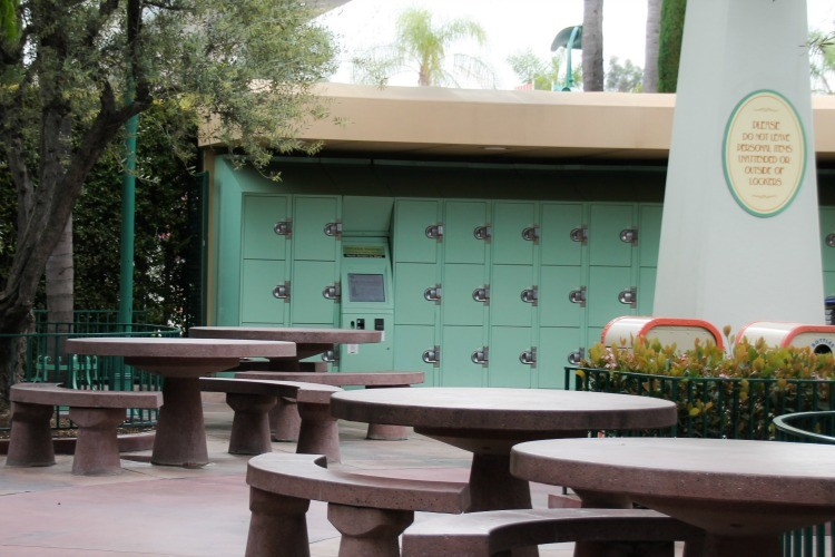 The picnic area in Disneyland is a great way to save money on Disney food