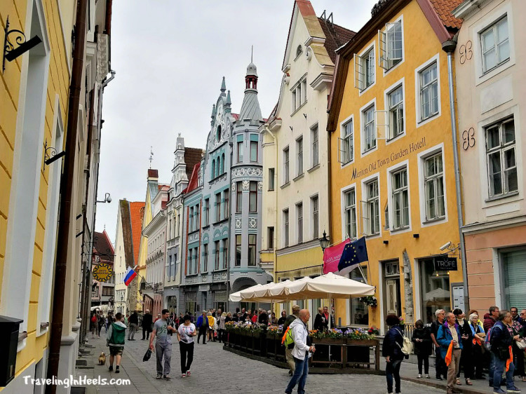 The capital of Estonia is Tallin with architecture dating back to its founding in the 1200's