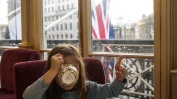 One of our favorite tips for visiting Europe with kids is to try a traditional high tea - even if it means skipping straight to the pastries!