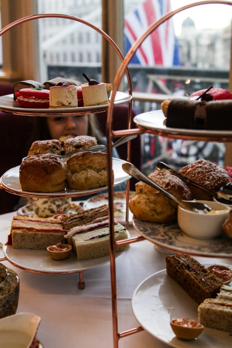 One of our best tips for visiting Europe with kids is to test drive a traditional English High Tea.