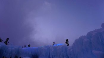 Visiting the Ice Castles with kids is a magical experience.