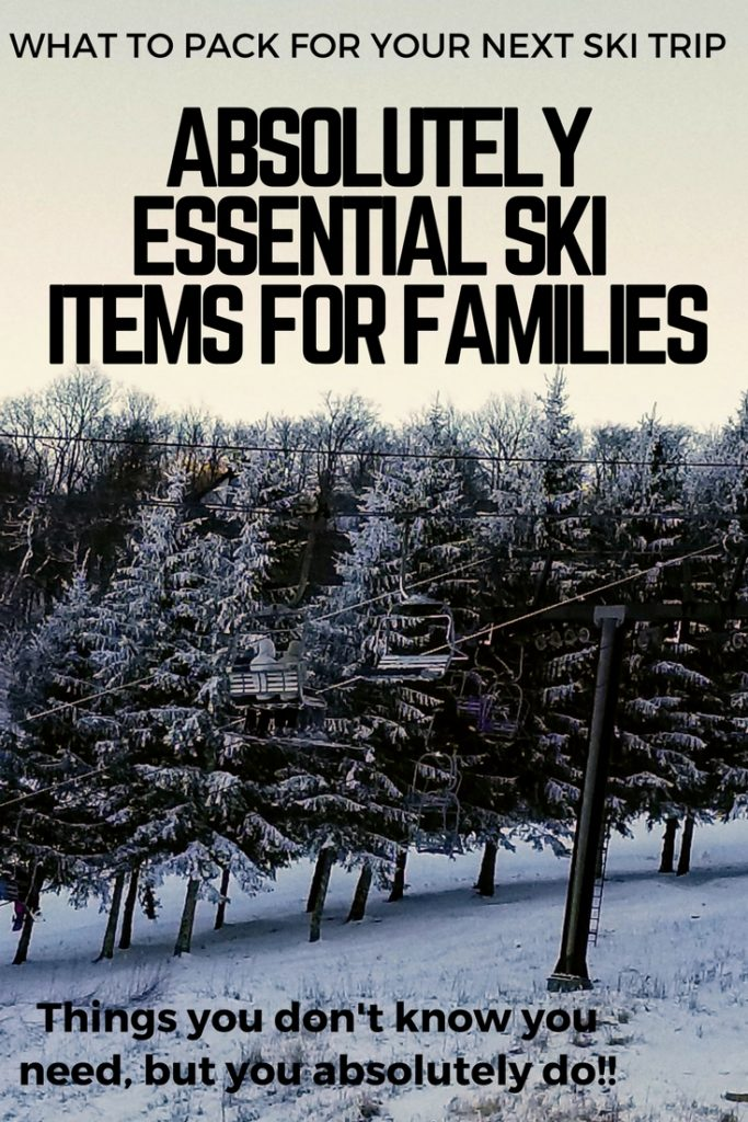 Even when skiing in the South there are essential ski items every family needs.