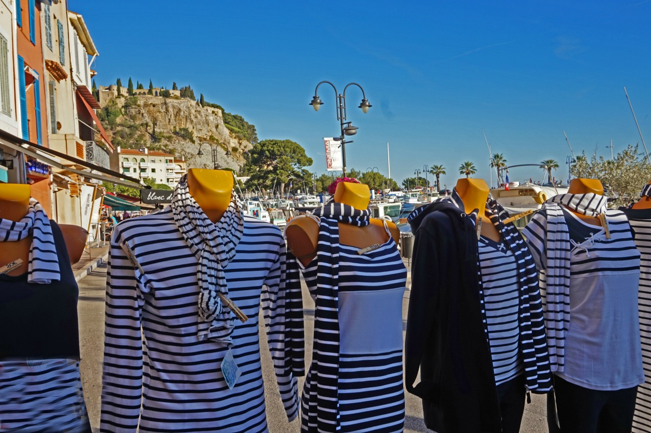 Shopping can be fun in charming little village of Cassis in Southern France.