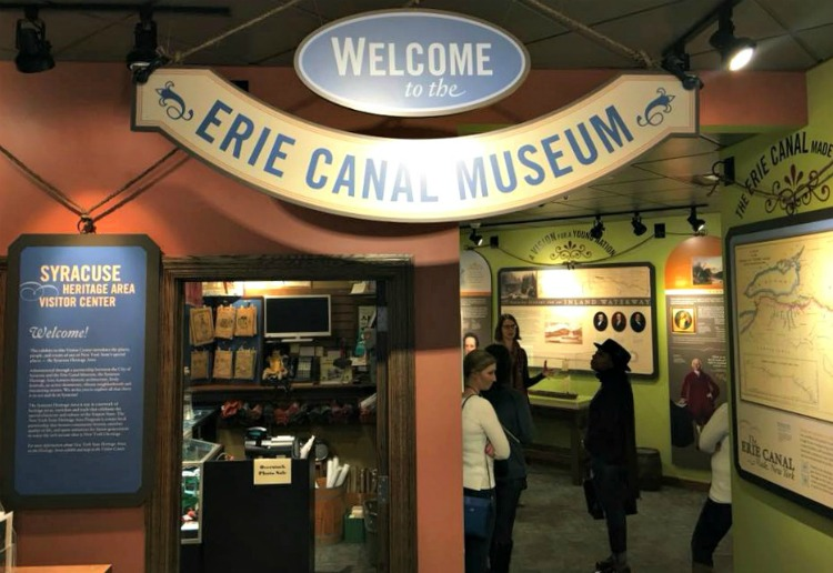 The Erie Canal Museum is a fun thing to do in Syracuse